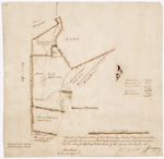 Page 10. This plan describes a tract of land between Jay, Chester, and Wyman's Plantation, surveyed for the Commonwealth of Massachusetts in pursuance of directions from the Committee for the Sale of Eastern Lands, 1795 by Jedediah Prescott