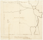 Page 12.  Plan of Township A, 10th Range as surveyed and divided in June A.D. 1834
