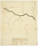 Page 13. Plan of the survey of the southeast quarter of Township 18 Range 12 WELS by John J. Webber, Samuel Cony, and George W. Coffin