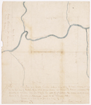 Page 14. Plan of a Quarter Township of Land lying east of the Indian Township No. 1 on the East side of Penobscot River by Joseph Treat