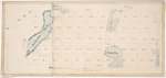 Page 19. Copy of a Plan of the Mortgaged land in the Town of Surry as the same was surveyed into lots by John Peters, Esq., Nov. 1822 by John Peters Jr. and Silas Holman