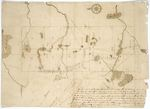 Page 24.  Plan of ten townships of land as laid out upon the road laid out by Charles Turner  and others leading from the North Line of Bingham's Million of Acres to the North boundary of this Commonwealth.