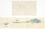 Page 35. Plan of all the islands in the Androscoggin River lying between the north line of Green and the south line of Livermore by Charles Hayden