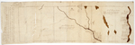 Page 38.  Plan delineating the boundaries of three townships together with the Settlers Lots therein being numbers one, two, and three in the second division of Townships northward of the Plymouth Company's land on the west side of Kennebec River