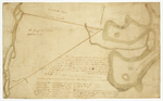 Page 38.  Plan representing within the red lines a triangular tract of land containing three thousand and twenty two acres bounding north on a Township granted by the General Court to Samuel Livermore and others