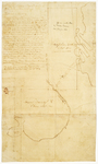 Page 44. Plan of the location of half township of land for Hampden Academy by Charles Turner