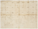 Page 46. Plan of 25 Townships in the 2nd or middle division of Townships East of Penobscot River in the County of Lincoln, seven of which were surveyed by Jones and Frie in 1768 and bound North on the Grand East and West Line. by Rufus Putnam