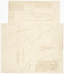 Page 47. Plan of land near Raymond and Standish on Sebago Pond by Lothrop Lewis