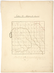 Page 06. Plan of Township Letter D in the second range of townships west from the East Line of the State as surveyed A.D. 1835 by Thomas Sawyer Jr.