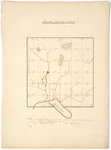 Page 08. Plan of township No. 3 in the fourth range west from Bingham's Kennebec Purchase by Uriah Holt
