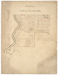 Page 01. Plan of Passadumkeag, Township Number 1 Old Indian Purchase by James Irish and Andrew Strong