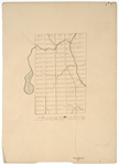 Page 03. A Plan of Township letter H in the Second Range, 1839 by Henry W. Cunningham
