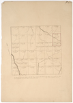 Page 04. A Plan of Township No. 9 in the 4th Range west from the east line of the State, as surveyed A.D. 1839. by Noah Barker