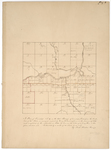 Page 08. A Plan of Township No. 9 in the 6th Range of townships, West from the East line of the State by Noah Barker and Henry W. Cunningham