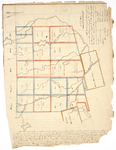 Page 03.  This Plan represents an actual survey of five ranges of townships of undivided lands belonging to Massachusetts and Maine; 1825