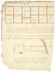 Page 03a.  Plan of Seboomook Township in Somerset and various townships in Aroostook circa 1826