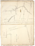 Page 08.  Plan of Hopkins Academy Grant in Penobscot County and plan of Bancroft in Aroostook County; 1826