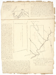 Page 09.  Map of Reed Plantation (Nichols Academy Grant) and of Days Academy Grant, 1828