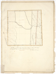 Page 12.  A Plan of Township numbered Four in the sixth range west of the Monument (Patten).