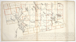 Page 14.  This Plan represents an actual survey of the tract of Country lying south of the line run due West from the Monument at the source of the St. Croix...