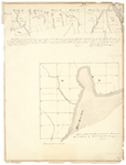 Page 20.  Two maps of townships in Piscataquis and Somerset counties, 1833