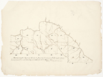 Page 38.  Map of part of the Undivided Lands - Township G, Range 1, Townships L to M Range 2, Townships 17-18 in Ranges 3-7 WELS