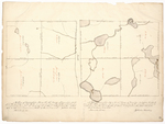 Page 41.  Plan of Township No. 5 in the 15th Range WELS; Plan of Township No. 7 in the 14th Range WELS