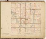 Page 01. Plan of Township G Range 2 WELS by John Gardner, William P. Parrott, and Noah Barker