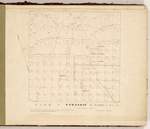 Page 03. Plan of Township 12, Range 4 WELS by Daniel Barker