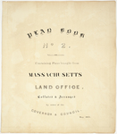 Page 00. Plan Book 2 Containing Plans brought from Massachusetts Land Office, Collated and Arranged by order of the Governor and Council, May 1877 by Massachusetts Land Office