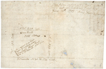 Page 01-1. This Plan represents a tract of land laid out for Jedidiah J[?] Esq. by Amos Davis