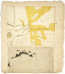 Page 03. Plan of a half township of land granted to the inhabitants of Taunton and Raynham; Plan of a strip of land lying between Butterfield or Number 6 and a mountain, containing 22,470 acres. by Thomas McKechnie and Samuel Titcomb