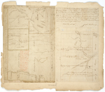 Page 05. Plan of the Kennebec River from the Northern bounds of the Plymouth Claim to the North line of the 2nd Range of Townships with Six Townships lying on the east side thereof; A Plan and Description of a half Township of land granted to Bath Academy A.D. 1806 by Samuel Weston and Joseph Sewall