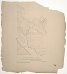 Page 01. Plan of Township 18, Range 4 WELS by Albert A. Burleigh and John Webber