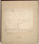 Page 05. Plan of Township 1 Range 3 Titcomb's Survey (Lambert Lake) by Samuel Titcomb and Zebulon Bradley