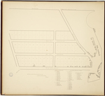 Page 50.  Plan of Houses on the Post Road from Ichabod Fairfield's to the wharf.