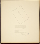 Page 64.  A Plan of the Reverend Mr. Jeremiah Wise's 200 acres of Land above Berwick in the County of York.