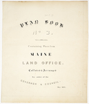 Page 00. Plan Book No. 3. by Maine Land Office