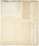 Page 03. Survey of Township 3, Range 4 WBKP and Township 13, Range 6 WELS by Zebulon Bradley and J. Cony