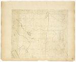 Page 10.  Plan of Township Number 8 in the fifth Range from the east line of the State surveyed in October 1833.
