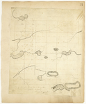 Page 14.  Plan of Township Number 3 in the Fourth Range west of the Monument Line as surveyed A.D. 1833.