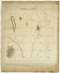 Page 15.  A Plan of Township Number 4 in the 7th Range of Townships west from the East line of the State as surveyed in May and June A.D. 1836