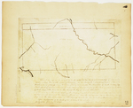 Page 20.  This plan represents a tract of land equal to two thirds of a township of six miles square, being the south part of township number one Range 6 West of Bingham's Kennebec purchase as surveyed for William Kibbe [...]