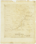 Page 24.  Plan of Township Number 12, 5th Range West from the East Line of the State, Surveyed 1838