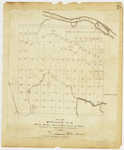 Page 25.  Plan of Township Number 12, Third Range West of East Line of State.