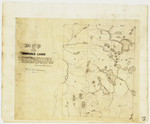 Page 28.  Map of a Part of the Undivided Lands, viz. Townships five, six, seven, and eight in the fourteenth, fifteenth, and sixteenth ranges west from the east line of the State.  Surveyed by order of the land agents of Massachusetts and Maine, 1841.
