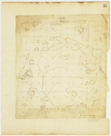 Page 35.  Plan of Township 2 in the 11th Range of townships West from the East line of the State as surveyed into sections by the Subscribers in June and July A.D. 1842 pursuant to instructions by the Land Agent dated May 31st, 1842.