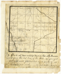 Page 43.  A Plan of Township 9 in the 4th Range west from the east line of the State as surveyed A.D. 1839.