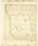 Page 44.  Plan of Township 4, 12th Range, surveyed A.D. 1835 on a scale of 40 chains to an inch.