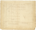Page 47.  Plan of the southwest quarter of Township 6 in the 4th Range of Townships WELS as surveyed and lotted and finished Nov. 3 A.D. 1861